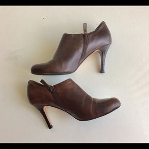 Cole Haan Brown Boot Shoes Heels Size 10